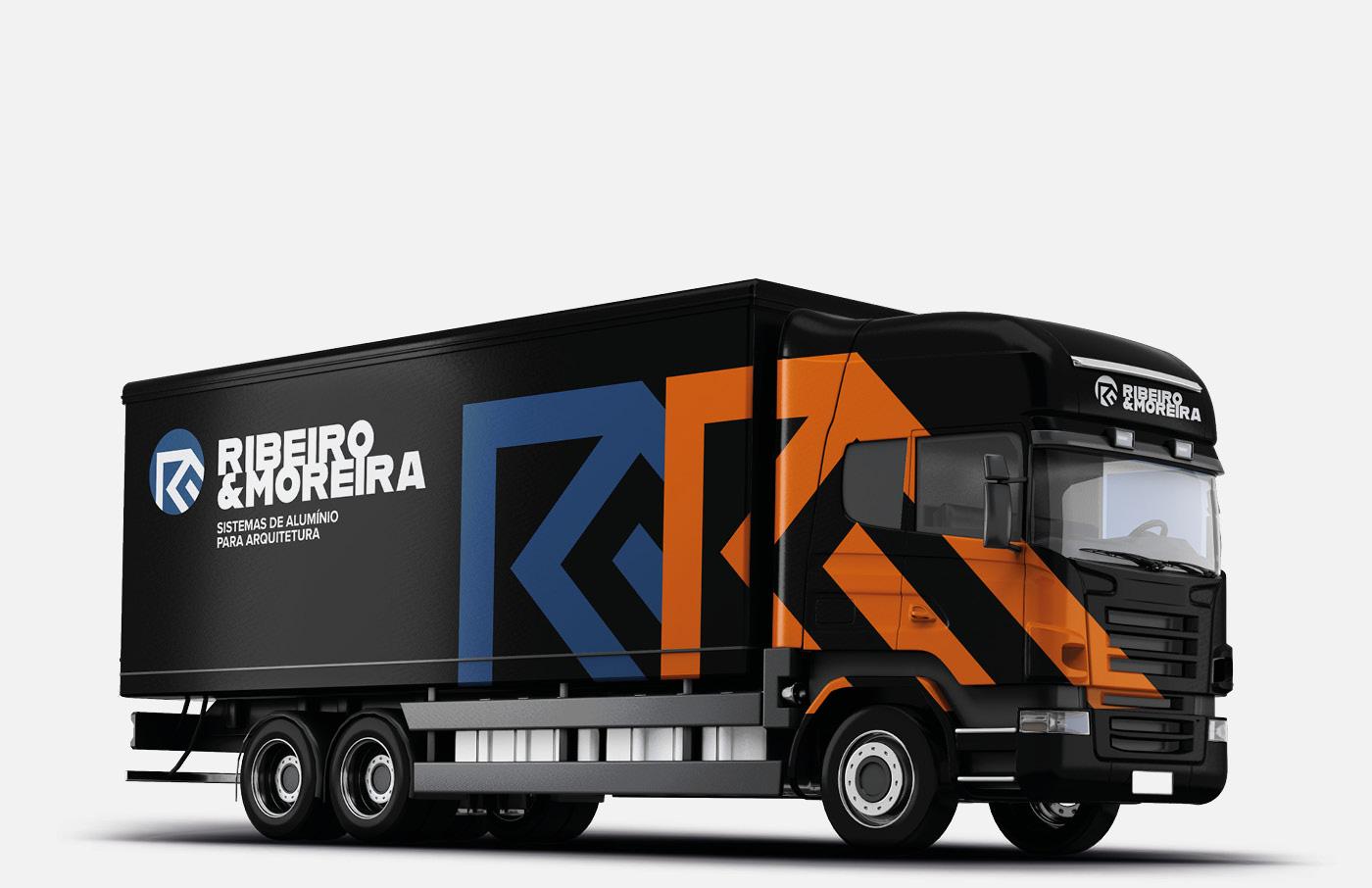 design de camião da Ribeiro e Moreira